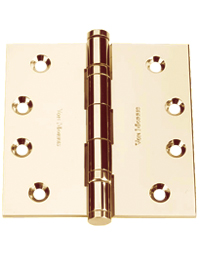 "4.5"" X 4.5"" Five Knuckle Ball Bearing Hinge, Pair"