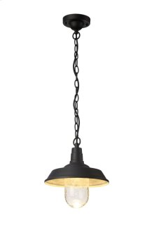 LED OUTDOOR HANG, 3000K, 120°, CRI80, ETL, 7.5W, 37.5W EQUIVALENT, 50000HRS, LM600, NON-DIMMABLE, 5 YEARS WARRANTY, INPUT VOLTAGE 120V, BLACK