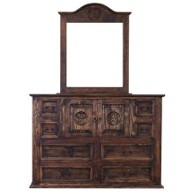 Medio Mansion Dresser W/Star