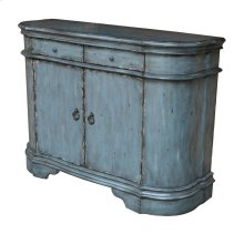 Harrison Distressed Grey 2 Door Cabinet