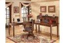 Hamlyn - Medium Brown 3 Piece Home Office Set Product Image