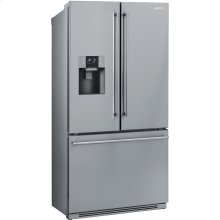 "36"", Stainless Steel French-Door Refrigerator with Automatic Freezer"