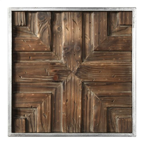 Bryndle Squares Metal Wall Decor S/9