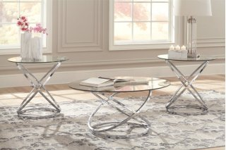 Hollynyx 3 Piece Table Set