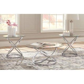 Hollynyx 3 Piece Table Set