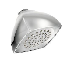 "Moen chrome one-function 4-1/16"" diameter spray head eco-performance showerhead"
