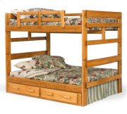 Full/Full Bunk Bed with Center Support Product Image