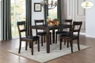 5-Piece Pack Dinette Set Table : 36 x 48 x 30H Chair : 17.5 x 21 x 38H Product Image