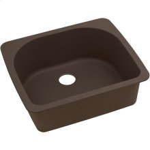 "Elkay Quartz Classic 25"" x 22"" x 8-1/2"", Single Bowl Drop-in Sink, Mocha"