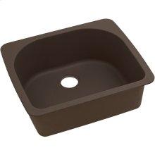 "Elkay Quartz Classic 25"" x 22"" x 8-1/2"", Single Bowl Drop-in Sink, Mocha"