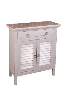 Sunset Trading Cottage Shutter Cabinet - Sunset Trading
