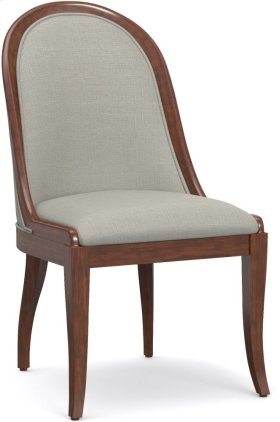 Front Row Upholstered Sling Back Chair