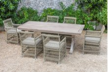 Renava Sonoma - Outdoor Beige Dining Set