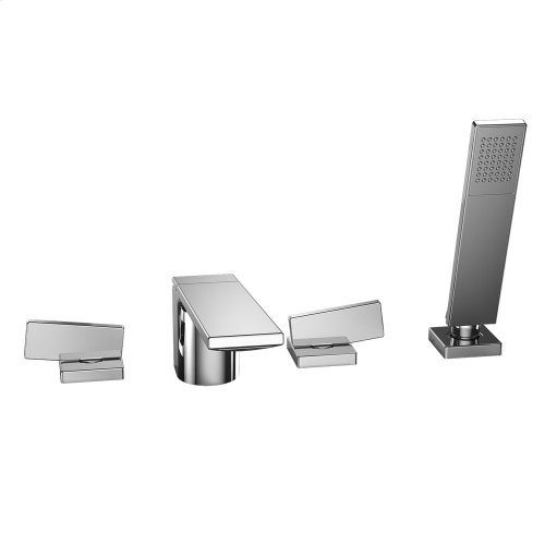 Legato® Deck-Mount Tub Filler Trim with Handshower - Polished Chrome Finish