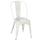 White Enamel Farm Chair Product Image