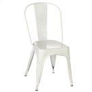 White Enamel Farm Chair Product Image