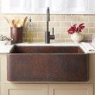 Polished Copper Farmhouse 30 Product Image