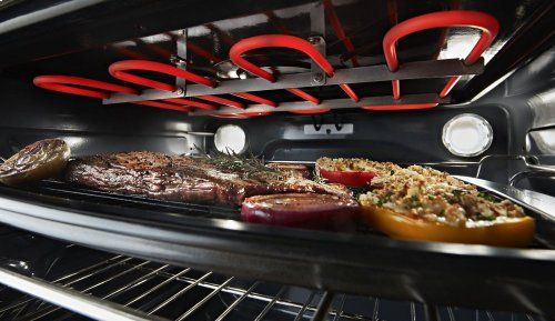 30-Inch 5-Element Electric Slide-In Convection Range - Stainless Steel