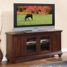 Windward Bay - 63-inch TV Console - Warm Rum Finish