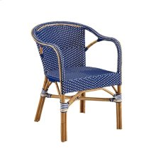 Blue Paley Bistro Chair
