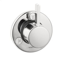 Chrome Diverter Trim S Trio/Quattro
