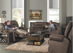 CATNAPPER 61561 Atlas Sable Extra Tall Power Reclining Sofa