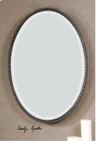 Sherise Bronze Oval Mirror Product Image