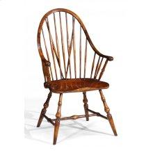 Tall Walnut Windsor Armchair