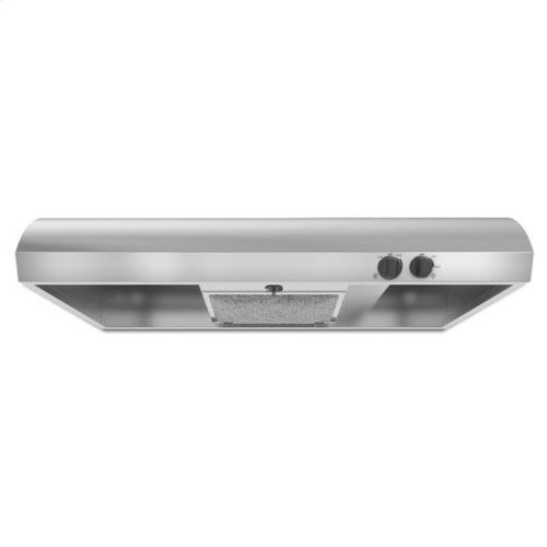 """36"""" Range Hood with the FIT System - black"""