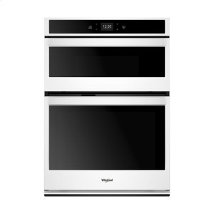 6.4 cu. ft. Smart Combination Wall Oven with Touchscreen - WHITE