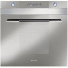 """60CM (approx 24 ) """"Linea"""" Electric Multifunction Oven Silver"""
