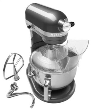 Pro 600 Series 6 Quart Bowl-Lift Stand Mixer - Pearl Metallic