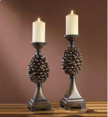 Pine Bluff Candleholders