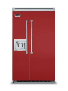 """48"""" Side-by-Side Refrigerator/Freezer with Dispenser"""