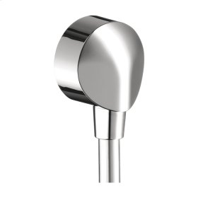 Chrome Wall Outlet with Check Valves