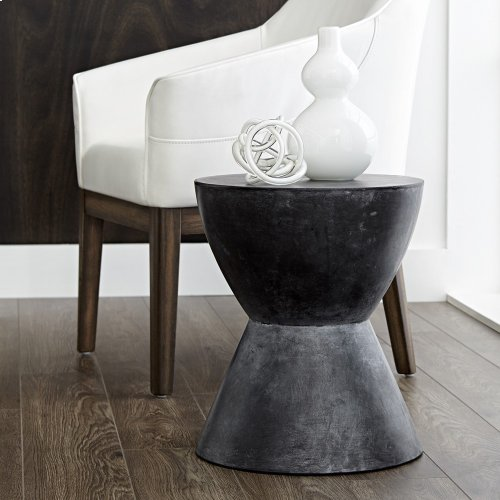 Logan End Table - Black