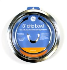 "8"" Chrome Burner Bowl-ELEC"