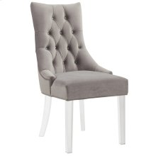 Cavalli Accent Chair in Grey