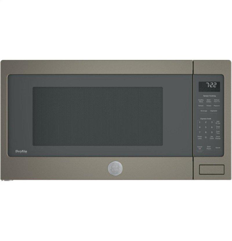 Ge Profile Series 2 Cu Ft Countertop Sensor Microwave Oven