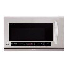 LG Studio - 2.0 cu. ft. Over the Range Microwave Oven