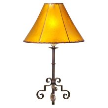 Forged Iron Table Lamp 035 (without shade)
