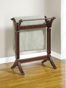 "Contemporary ""Merlot"" Blanket Rack"