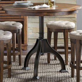 Round Gathering Table Top