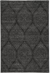 Quarry Black Grey Machine Woven Rugs