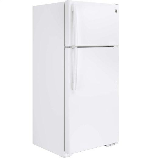 GE® ENERGY STAR® 15.5 Cu. Ft. Top-Freezer Refrigerator