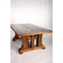 Windy Stables - King Ranch Dining Table - 6′