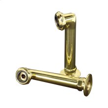 """Faucet Elbows - 6"""" Pair - Polished Chrome"""