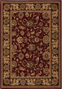 Hard To Find Sizes Grand Parterre Pt01 Red Rectangle Rug 8'3'' X 11'3''