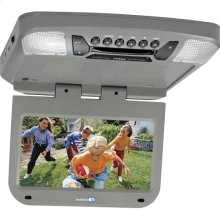 9 inch monitor with built-in DVD player (pewter finish)
