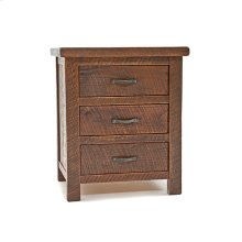 Oak Haven - 3 Drawer Nightstand